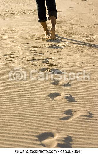 Footprints - csp0078941