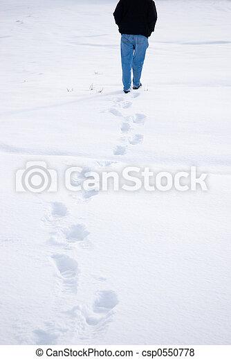 Footsteps - csp0550778