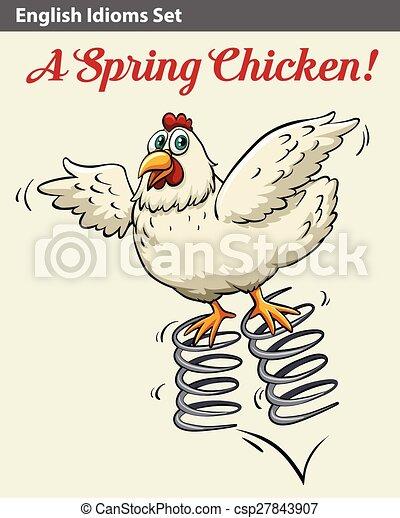 kylling på engelsk