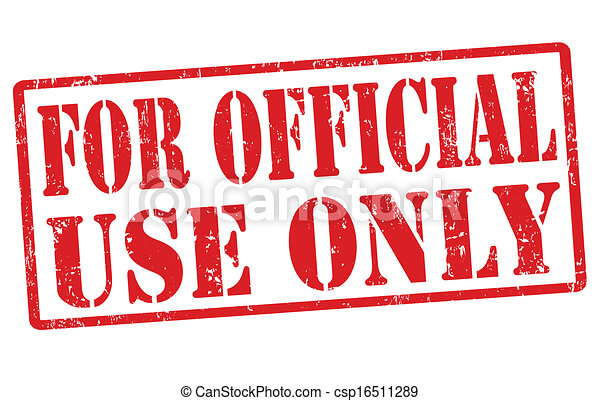 for official use only stamp for official use only grunge rubber