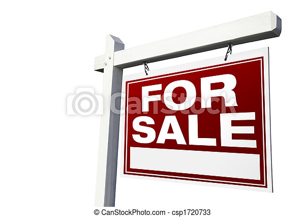 For Sale Real Estate Sign - csp1720733