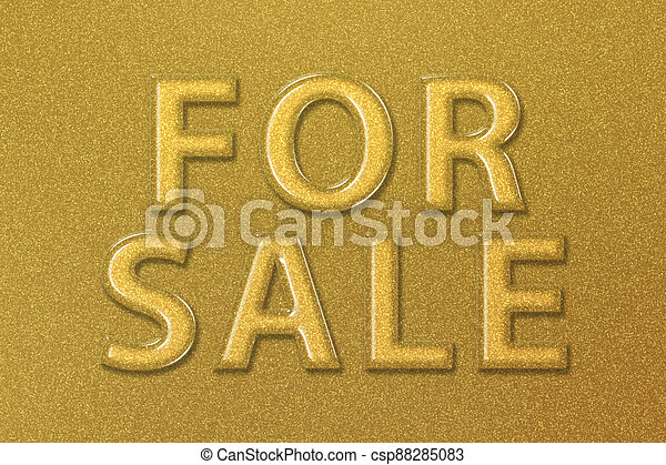 For Sale Sign, Real estate sign - csp88285083