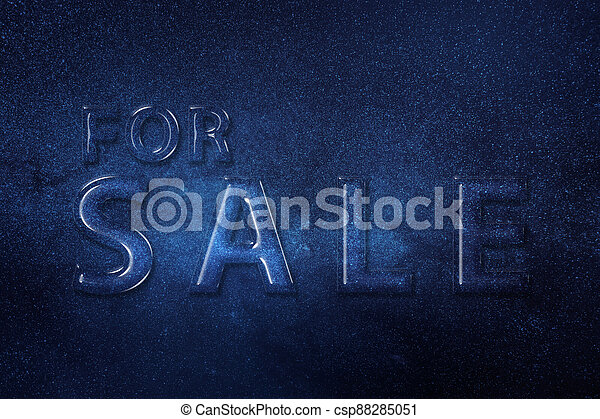 For Sale Sign, Real estate sign - csp88285051