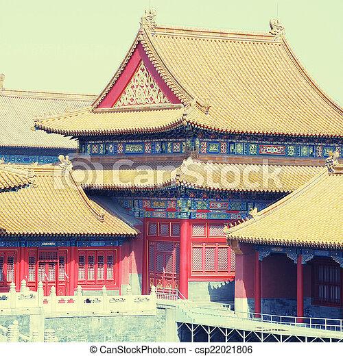 Forbidden City Beijing China Instagram Effect