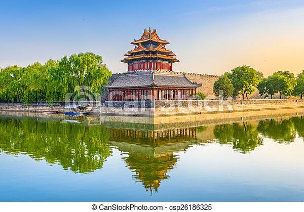 Forbidden City of Beijing - csp26186325