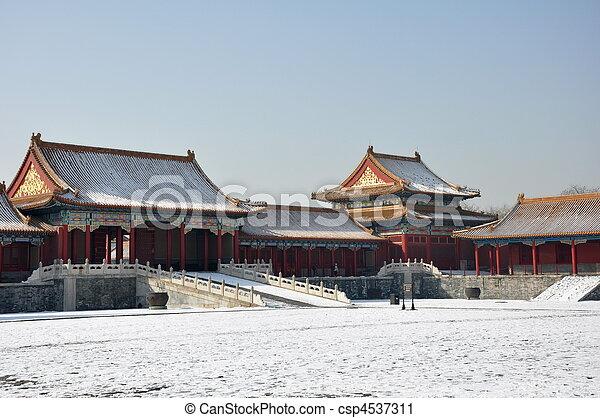 Forbidden City - csp4537311
