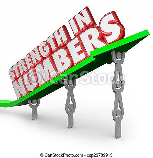 force, but, fonctionnement, flèche, ensemble, nombres, mots, équipe, 3d - csp23789913