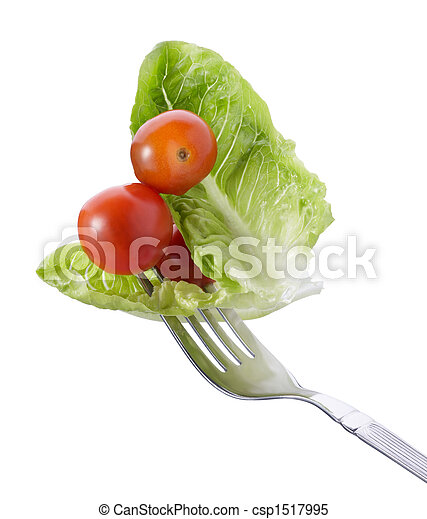 forchetta, verdura - csp1517995