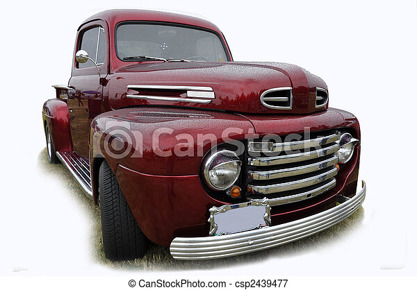 Ford Pick up - csp2439477