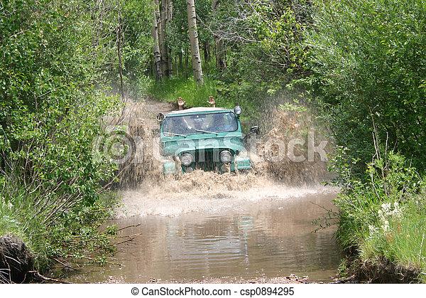 Fording the Stream - csp0894295