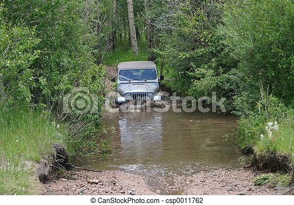 Fording the Stream - csp0011762