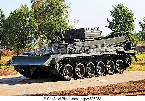 fordon, pansrad - csp24528253