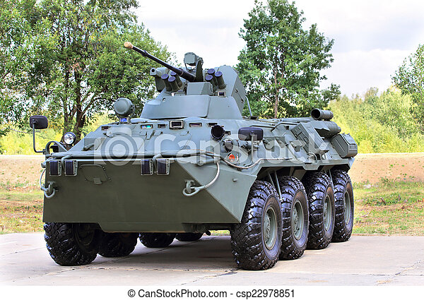 fordon, pansrad, transport - csp22978851