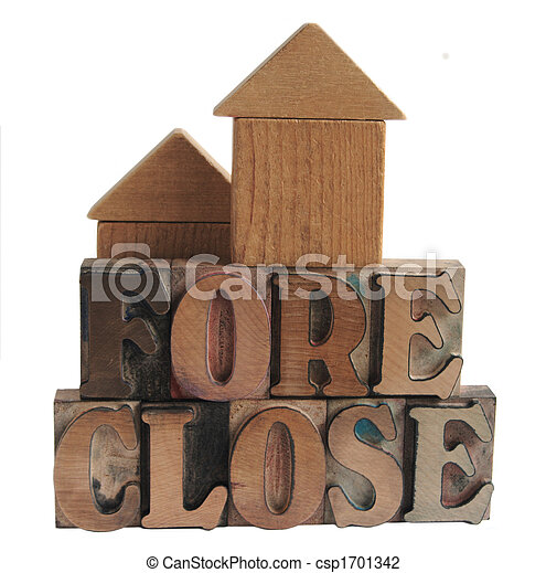 foreclose with block houses - csp1701342