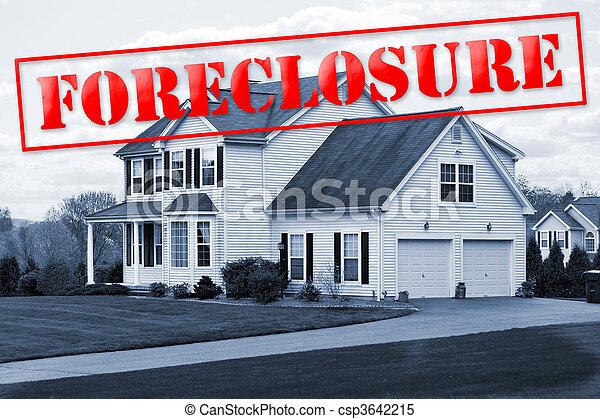 Foreclosure House - csp3642215