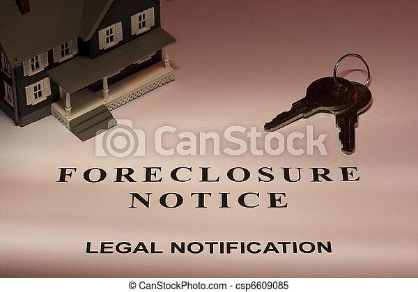 Foreclosure Notice - csp6609085