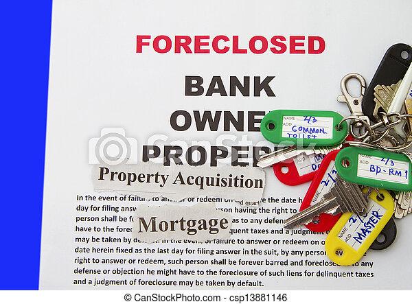 Foreclosure Notice - csp13881146