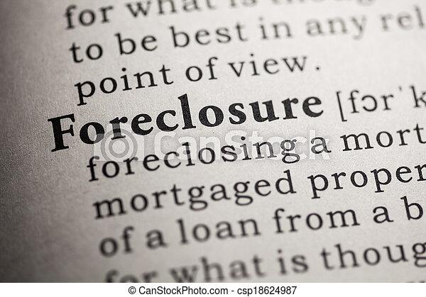 Foreclosure   Csp18624987