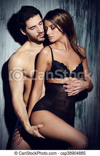 foreplay couple - csp38904885
