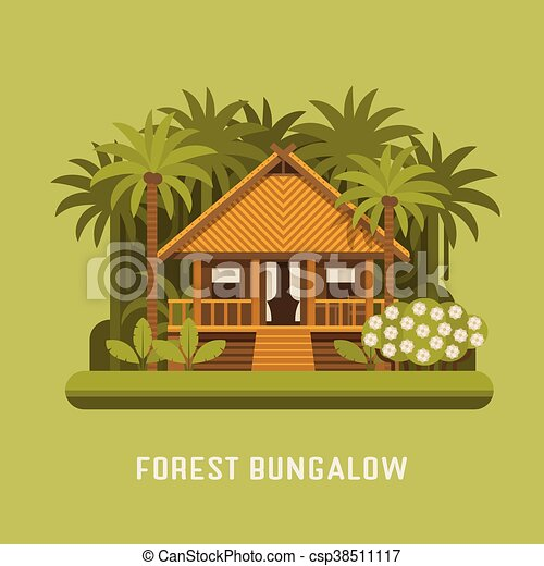Forest bungalow - csp38511117