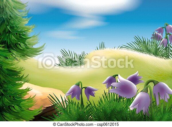 Forest glade - csp0612015