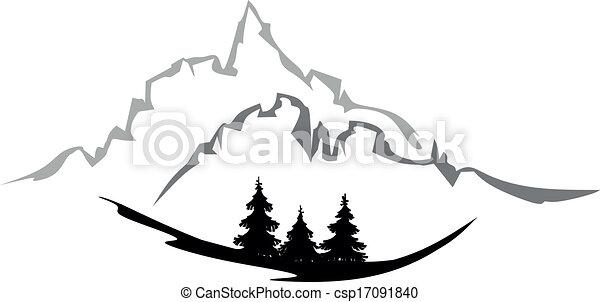 forest landscape - csp17091840