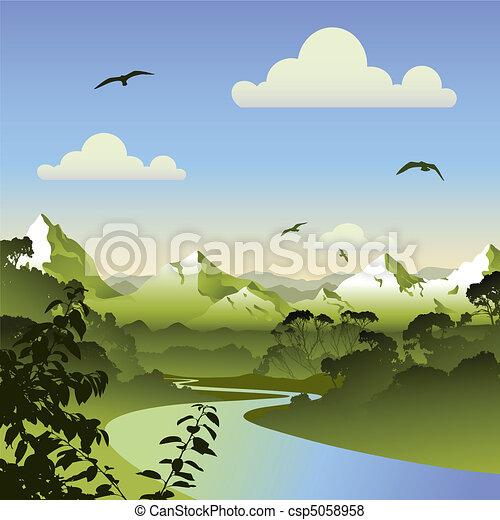 Forest Landscape - csp5058958