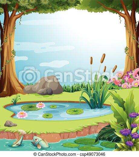 Fish pond design drawing - photo#47