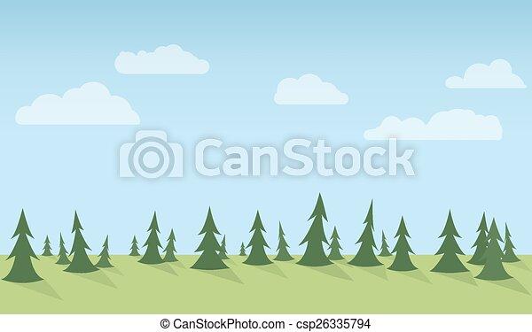 Forest Seamless - csp26335794