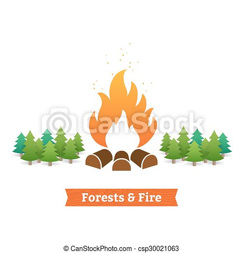 Forests and fire - csp30021063