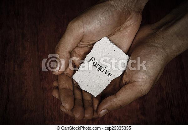 Forgive - csp23335335