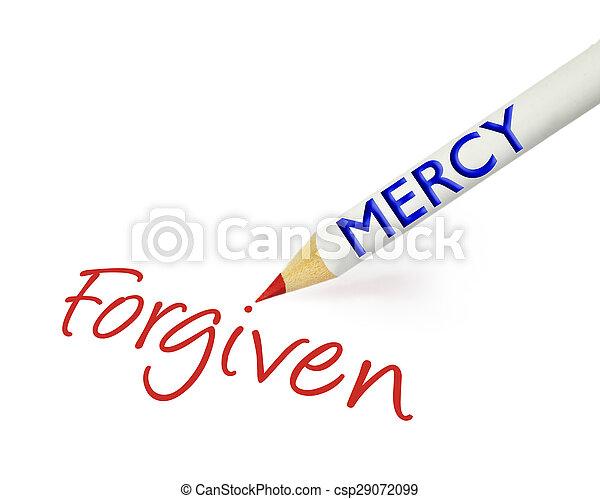 forgiven, litość - csp29072099