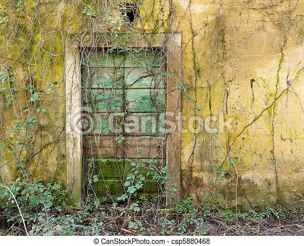 Forgotten doorway - csp5880468