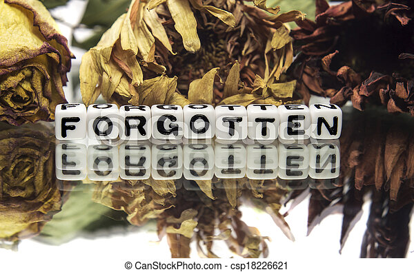 Forgotten - csp18226621