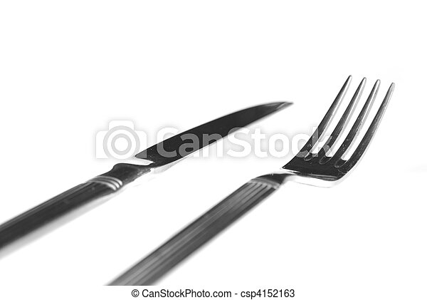fork and knife - csp4152163