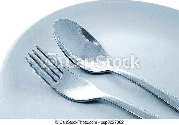 Fork and Spoon - csp0227062