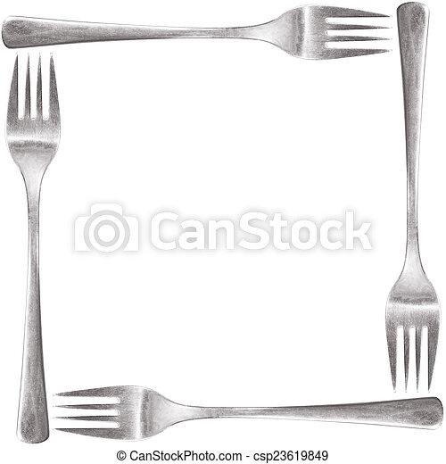 fork frame - csp23619849
