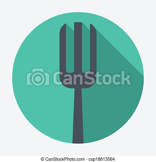 fork icon - csp18613564