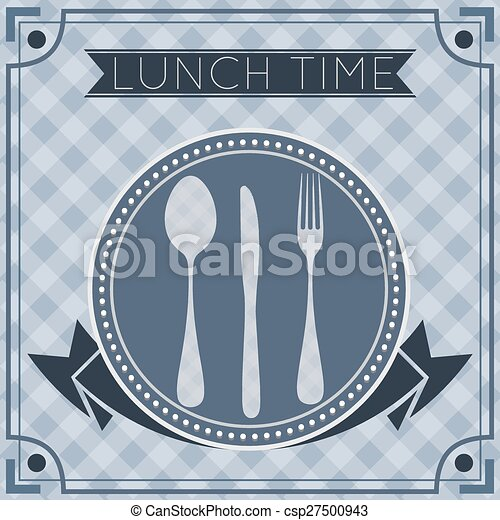 Fork Spoon Knife Background - csp27500943