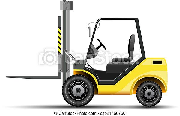 Forklift - csp21466760