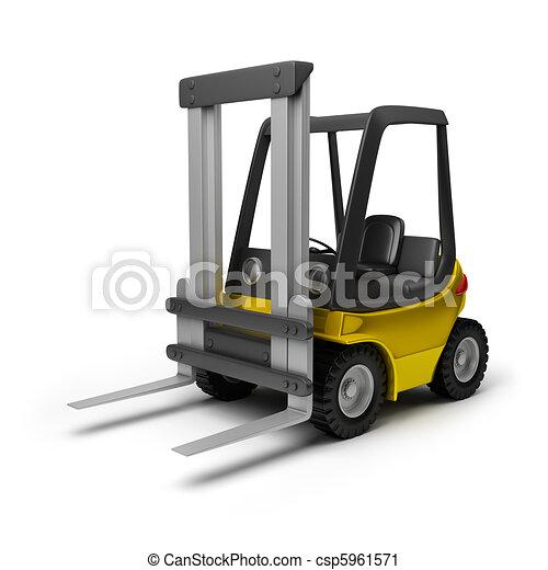 Forklift illustrations and clip art 8415 forklift royalty free forklift clipartby 3dclipartsde71106 forklift toy yellow forklift 3d image publicscrutiny Images