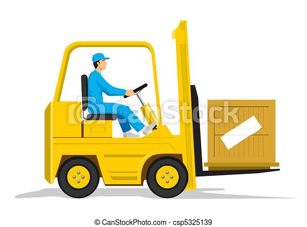 Forklift - csp5325139