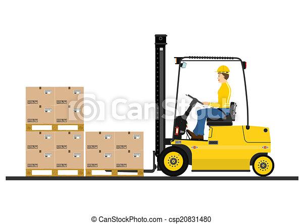Forklift - csp20831480