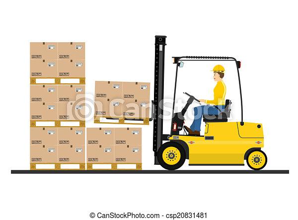 Forklift - csp20831481