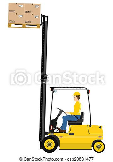 Forklift - csp20831477
