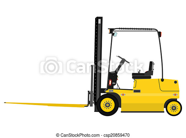 Forklift - csp20859470