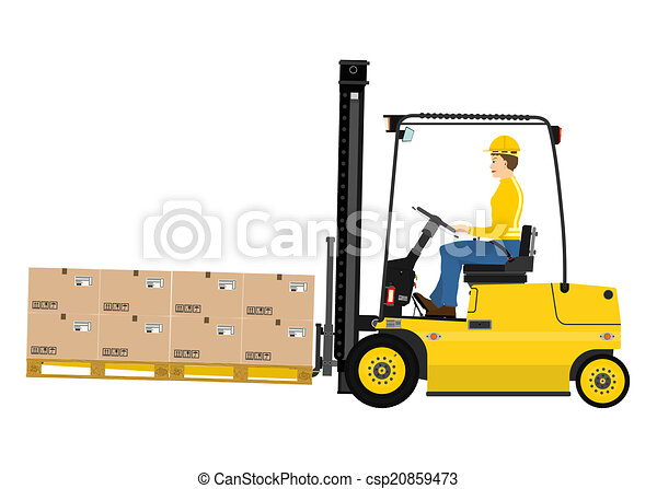 Forklift - csp20859473