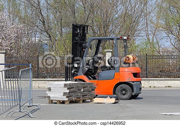 Forklift - csp14426952
