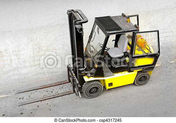 Forklift - csp4317245