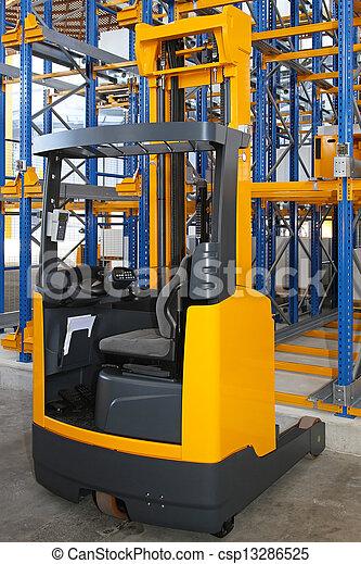 Forklift - csp13286525